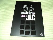 """DVD """"CONVERSATION AVEC Jean-Luc GODARD (JLG)"""" entretien 2010"""