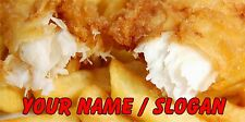FISH AND CHIPS BAR RUNNER - PERSONALISED FREE