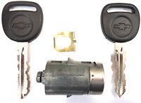 FIT MANY MODELS NEW GM FACTORY ORIGINAL Door Lock Cylinder with 2 LOGO keys