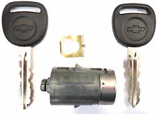 NEW GM FACTORY ORIGINAL Door Lock Cylinder with 2 LOGO keys - FIT MANY MODELS