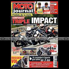 MOTO JOURNAL N°1936 KAWASAKI ER-5, ALBERTO PUIG, DUCATI MONSTER 900 & 1100 2011