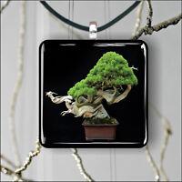 TREE BONSAI #7 PENDANT NECKLACE 3 SIZES CHOICE -xcr4Z
