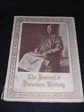 Journal of American History 1915 Cheng Hsun Chang Cover China Chinese Relations