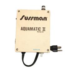 Sussman Aqua Gold Iron New Pump And Pressure Switch Repair