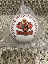 Rochester Red Wings Baseball With Logo - New, Sealed In Package