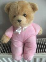 "PMS Freemasons TLC Appeal pink Teddy Bear Soft Toy 10"" plush cuddly ours bar a2"