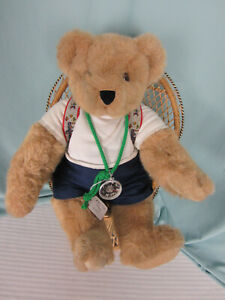 1992 Vermont Teddy Bear Co Hiking the Long Trail Hiker Complete Outfit Jointed
