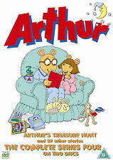 Arthur - Complete Series 4 - 2 DVD SET - BRAND NEW SEALED CHILDRENS KIDS FOUR