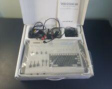 Sima Video Studio 500 VS500 Video Titler Mixer w/ Headphones Vintage in box