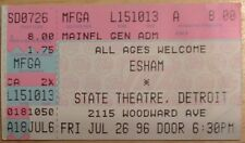 1996 Authentic Esham Ticket Stub Reel Life Gotham