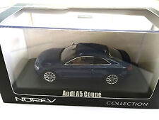 Audi A5 Coupé 2012 - Blue Metallic  - 1:43 NOREV / DIECAST MODEL CAR -830105