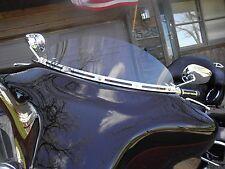 "Harley 6"" Lite Tint Windshield Street GlideTouring ElectraGlide Batwing 96-13"