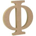 Wooden Greek Letters - Fraternity/Sorority - Premium MDF Wood Letters