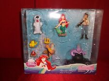 DISNEY PRINCESS EXCLUSIVE THE LITTLE MERMAID FIGURINE PLAYSET  7 CAKE TOPPERS