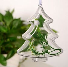 Christmas Tree  Candy Box Bauble Decoration Clear Plastic DIY Ornament  Pop 5sTt