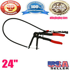 "24"" Hose Clamp Pliers w/ Flexible Wire Fuel Oil Water Hose Hand Tool On Sale UEK"