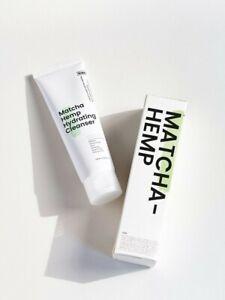 KRAVE BEAUTY Matcha Hemp Hydrating Cleanser 120ml *UK SELLER* kravebeauty