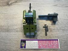 Transformers G1 - Combaticon - Brawl - Metal treads version C9 NM