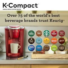 Original Keurig Coffee Maker, Was 99.99$.RED, Perfect For Work