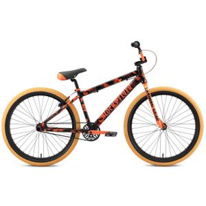 "New In Box SE Bikes Blocks Flyer 26"" Orange Camo Wheelie bike PK Ripper BMX"