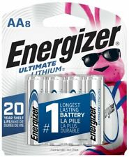 Energizer L91SBP-8 AA ultra lithium batteries 8 AA Exp.2039+ 20-years shelf life