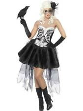 Aduilts SKELLY VON TRAP Halloween Costume Burlesque Fancy Dress Theatre Macabre