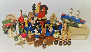 Konvolut Weihnachten Figur Engel Nußknacker Weihnachtsmann Kurrende Ersatzteil
