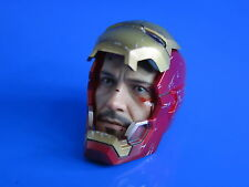 Hot Toys MMS197 Ironman 3 Mark XLII Tony Stark Helmet Head 1:6 scale