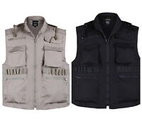 MENS Army Military Hunting Game Vest Fishing Travel Camping Ranger Vest S,M,L,XL