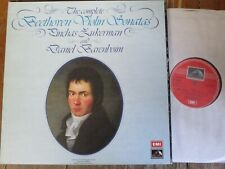 SLS 871 Beethoven Violin Sonatas / Zukerman / Barenboim 5 LP box