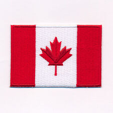 30 x 20 mm Canada Drapeau Canada Flag Ottawa patch écusson Aufbügler 0636 Mini