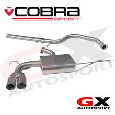 VW08 Cobra Sport VW Golf MK5 1K 2.0 TDI 140PS 04-09 Cat Back Exhaust