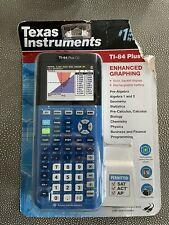 New ListingTexas Instruments Ti 84 Plus Ce Graphing Calculator - Blue