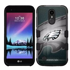 for LG K20 Plus/LG V5 Impact Armor Rugged Hybrid Case Philadelphia Eagles #BG