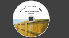 Fence & Garden Structure Outbuildings Diy How To Build Plans Woodwork Guides