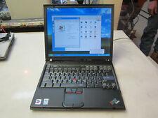IBM Thinkpad T42 Laptop Working 1.70Ghz 1.5Gb 120gb hdd Windows XP