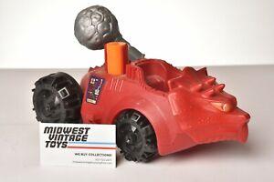 Vintage Masters of the Universe - MOTU - Bashasaurus 100% COMPLETE - Mattel