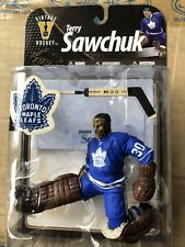 VINTAGE Hockey NHL Terry Sawchuk Toronto Maple Leafs Figure Rare