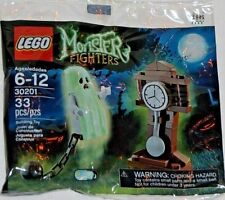 LEGO Monster Fighters HAUNTED HALLOWEEN GHOST Glows -GRANDFATHER CLOCK 30201 NEW
