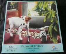 """SunsOut Personal Trainer 550 Piece Jigsaw Puzzle by Linda Daniels  18"""" x 15.5"""""""