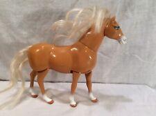 1997 Vintage Mattel Tan White Walking Horse