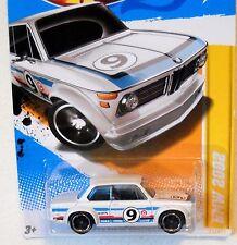 2012 Hot Wheels NEW MODELS #21/50 * BMW 2002 * MF WHITE COLOR VARIANT USLC