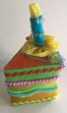 Katherine's Collection W Kleski Birthday Cake Trinket Jewelry Gift Box New Blue