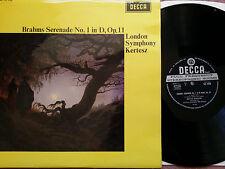 SXL 6340 Brahms Serenade No.1 London Symphony Orchestra Istvan Kertesz WBG