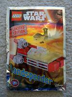 LEGO Star Wars - Super Rare 911608 Landspeeder Foil Pack - Limited Edition