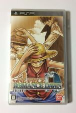 USED PSP One Piece ROMANCE DAWN Bouken no Yoake JAPAN Sony PlayStation Portable