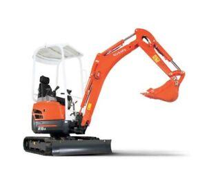 Kubota U17-3a Excavator Service Repair Workshop Manual