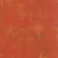 Moda Fabric - Grunge - Pumpkin - 100% Cotton Orange