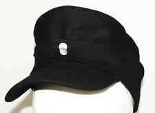 WWII GERMAN WH ELITE EM M43 PANZER WOOL FIELD CAP L-3461