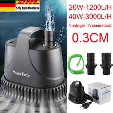 3000L/H Filterpumpe ECO Teichpumpe Bachlaufpumpe Teich Filter Gartenteich Wasser